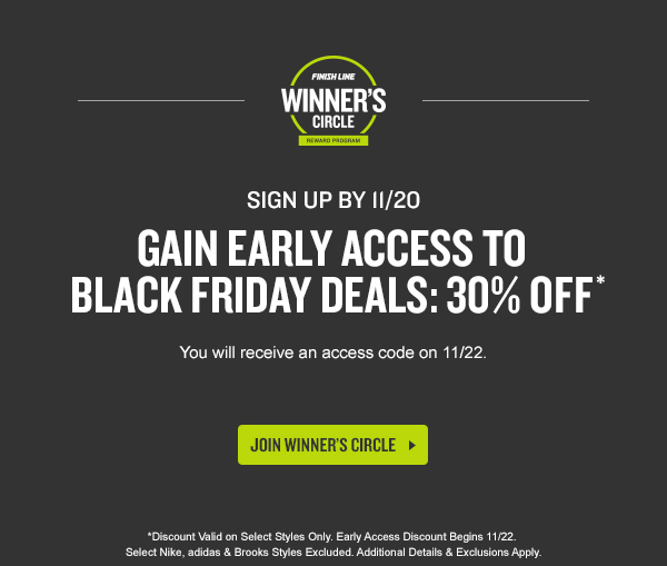 Winners circle coupon code