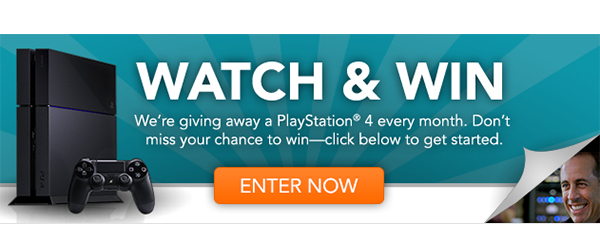 Watch & Win - Click to enter