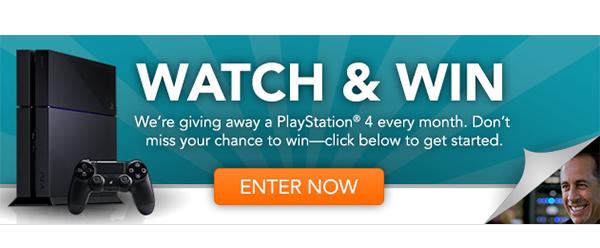 Watch & Win - Enter to Win